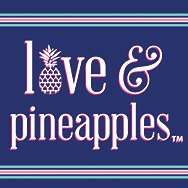Women's Love + Pineapples Shirts + Tops